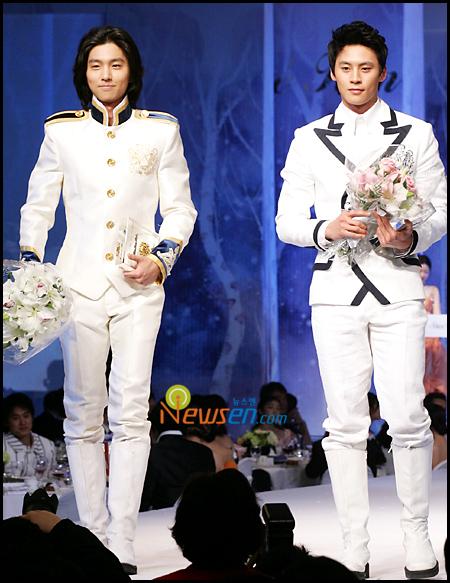 (Left to right: Shin Dong-wook & Hur E-jae, Shin Dong-wook& Hur E-jae,