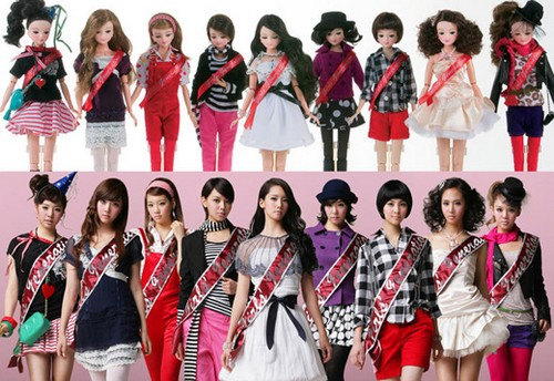 girls generation doll
