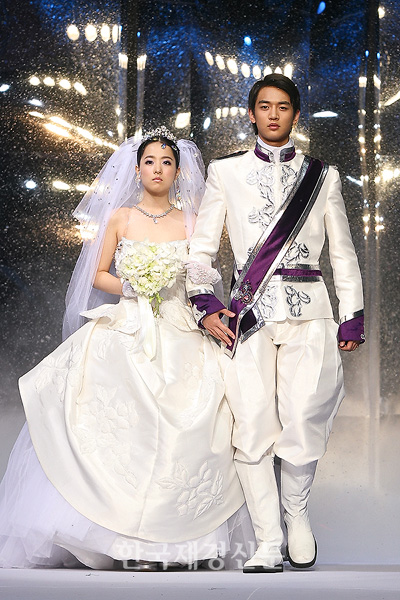 Minho Of Shinee And Park Bo Young Wed For Andre Kim