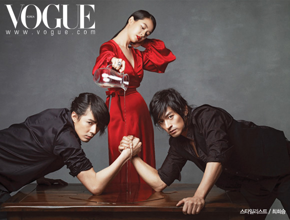 Jo In-sung And Joo Jin-moo Do Each Other For Vogue