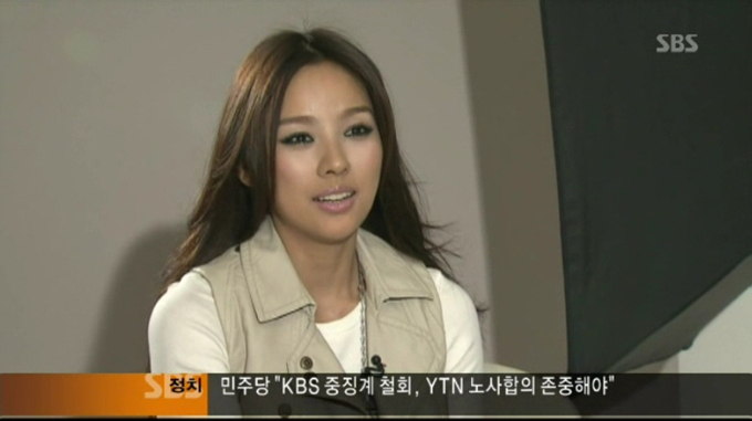 hyori lee no makeup. Lee Hyori keeps it real on SBS