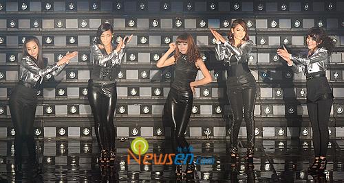 Wondergirls do first concert in spandex | POPSEOUL!