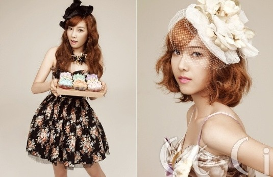 girls generation jessica. TaeYeon and Jessica from SNSD