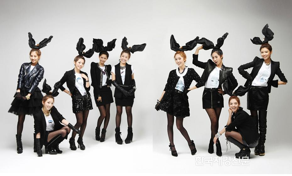 Girls Generation glammed it up for the September issue of Elle Girl magazine