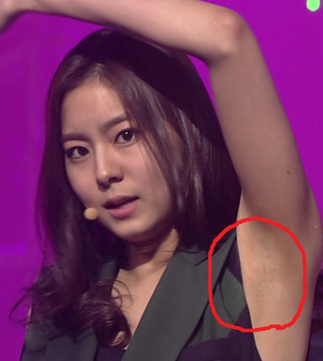 How Do Kpop Girl Idols Have No Body Hair Random Onehallyu