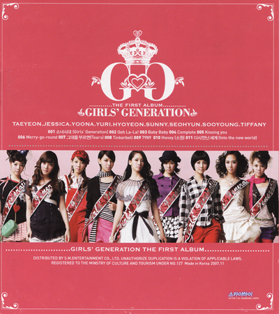 snsd girls generation album. album, Girls Generation,