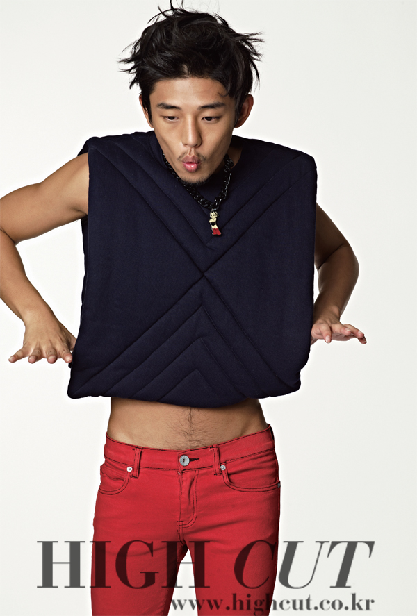 Yoo Ah-in get's seductive for a 'Style Scandal'