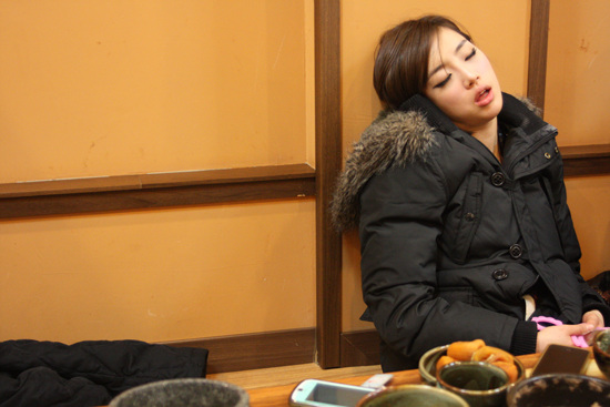 Eun-jung of T-ara seems very tired | POPSEOUL!